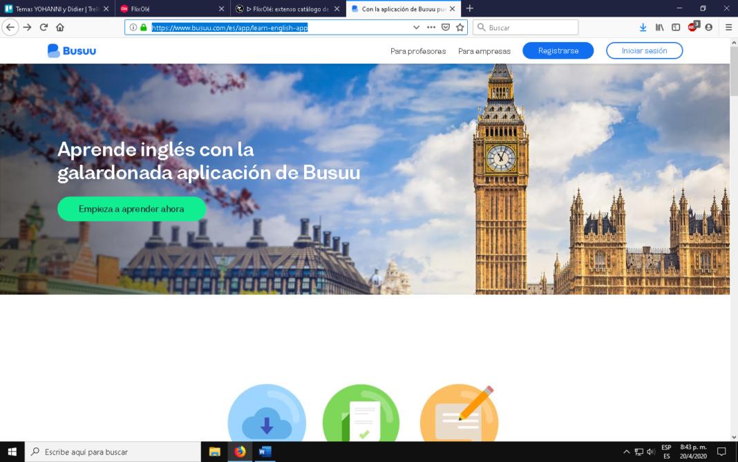 Busuu, la app para aprender idiomas