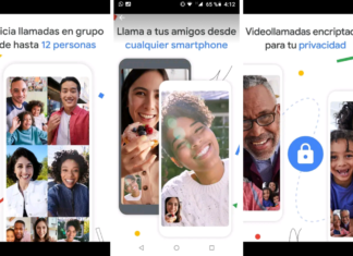 Captura de la aplicación Google Duo