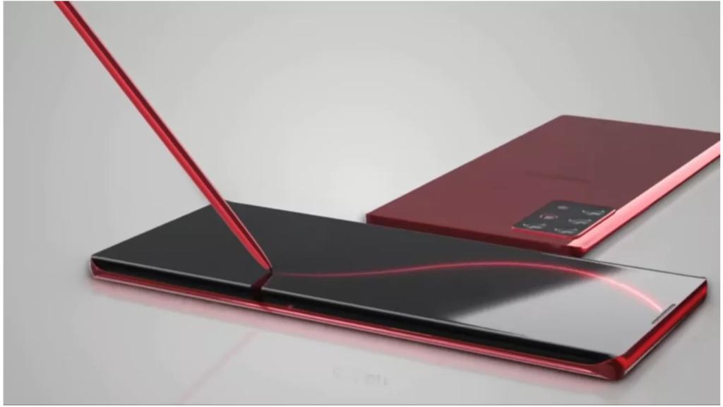 Render del Galaxy Note 20 según TT Technology