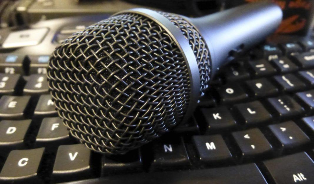 Micrófono para podcast