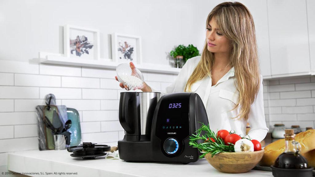 Funciones robot de cocina