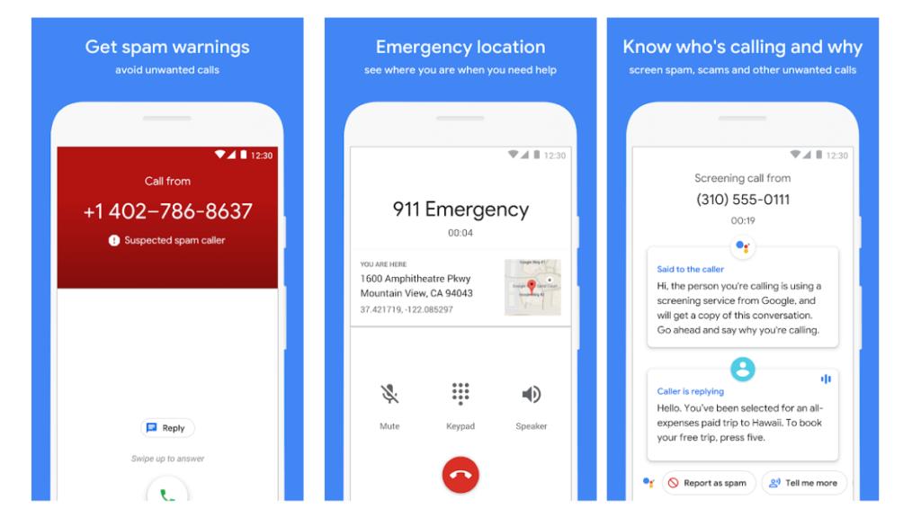 Teléfono Google también es una App muy utilizada.