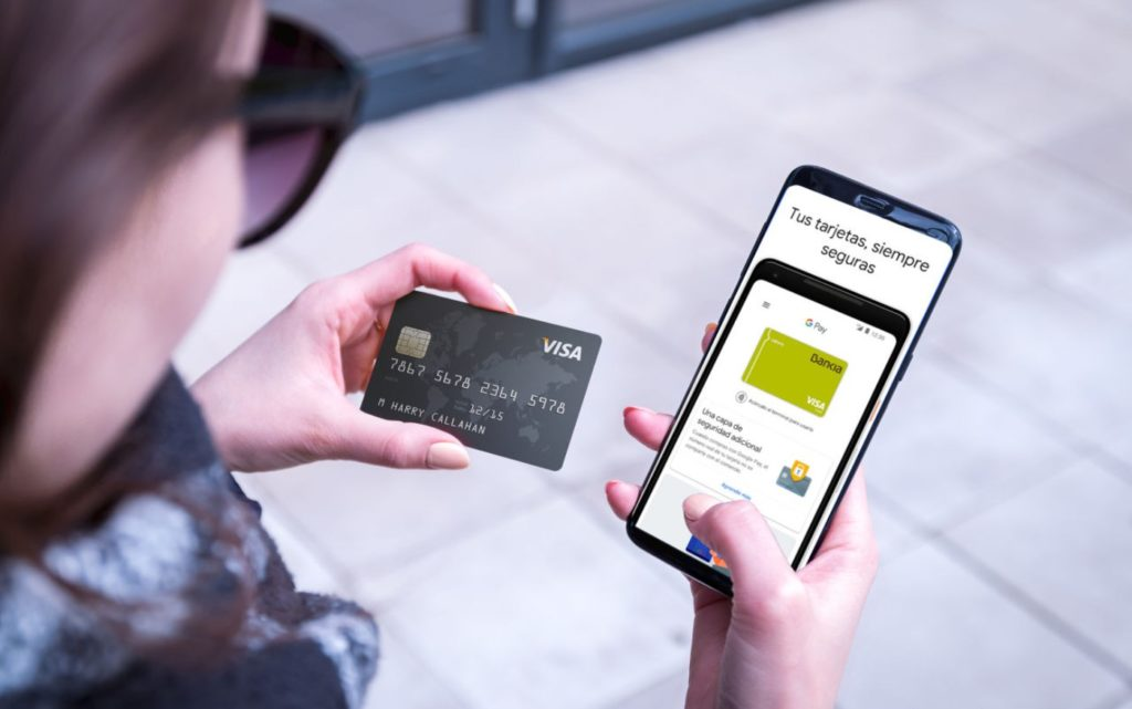 Google Pay pagar con móvil