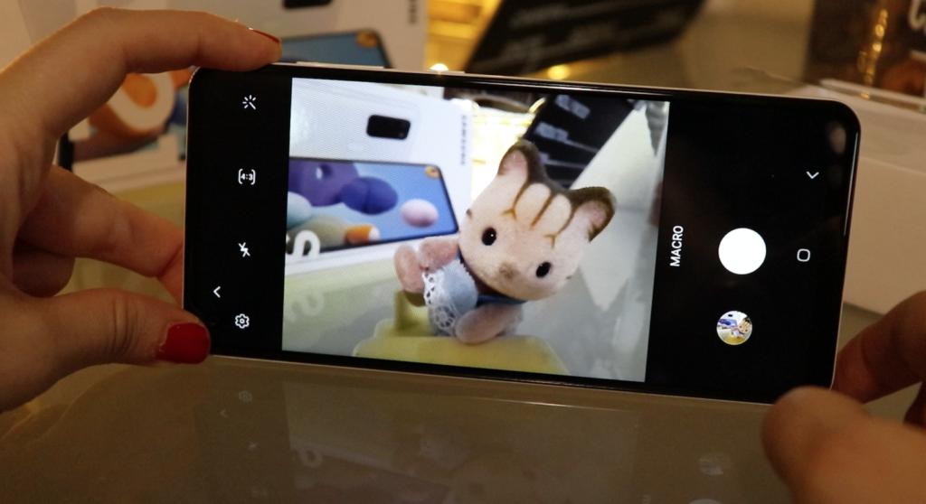 Foto in modalità macro della fotocamera Samsung Galaxy A21s
