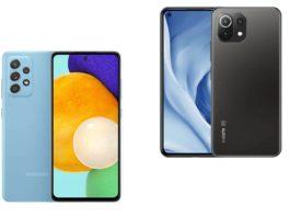 Xiaomi Mi 11 lite 5G vs Samsung A52 5G