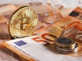 Criptomonedas y dinero físico