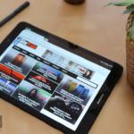 Tamaño de la Galaxy Tab S3