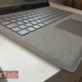 Acabado del teclado de la Surface Laptop