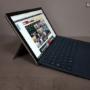 Microsoft Surface Pro 2017 vista de perfil